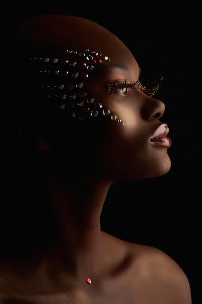 makeup model photo